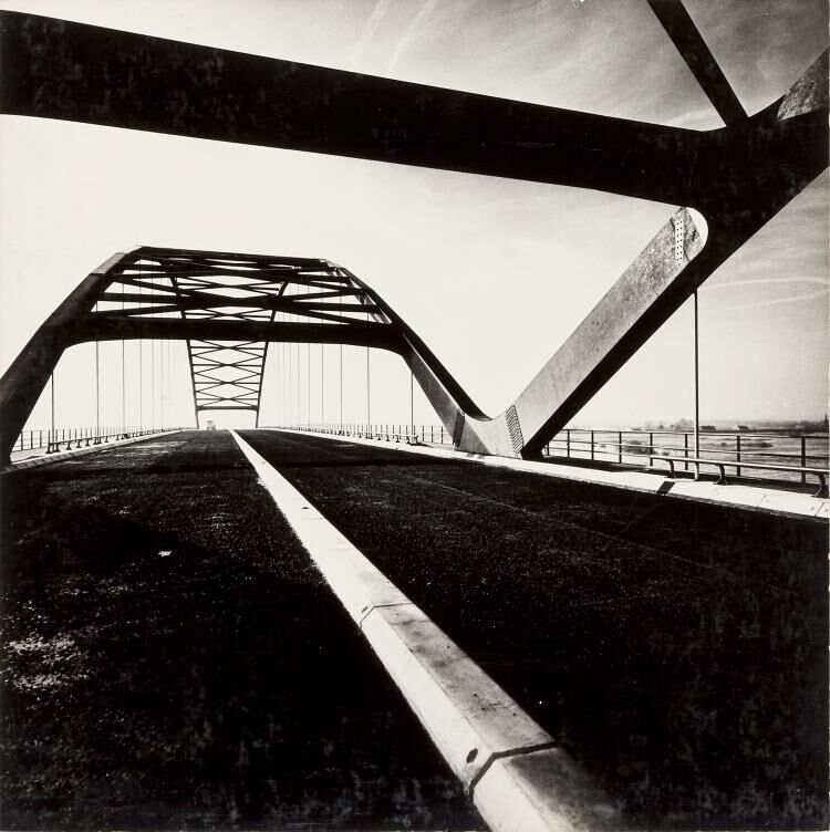 Foto van Merwedebrug uit 1962