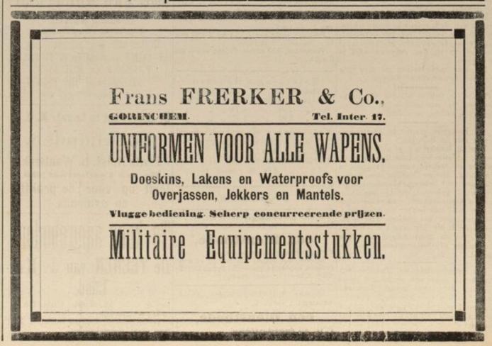 Advertentie Frerker